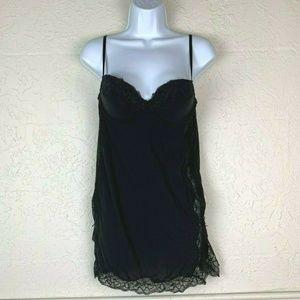 Victoria's Secret Bra Teddy 34C Nightgown Lingerie